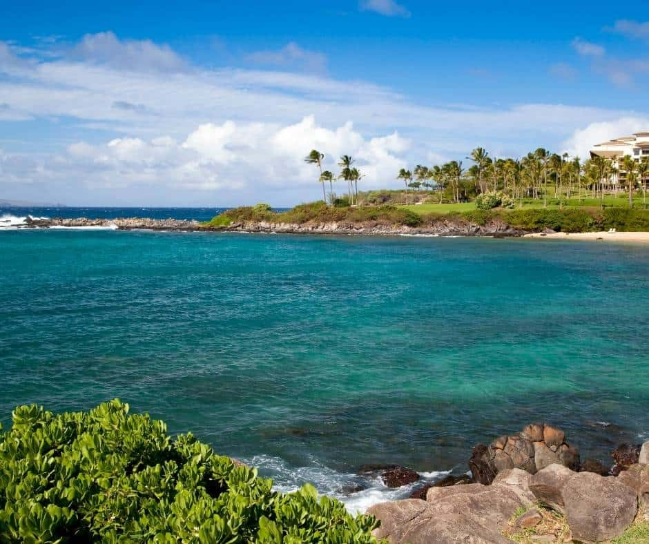 Kapalua Bay is a great snorkeling spot in Maui