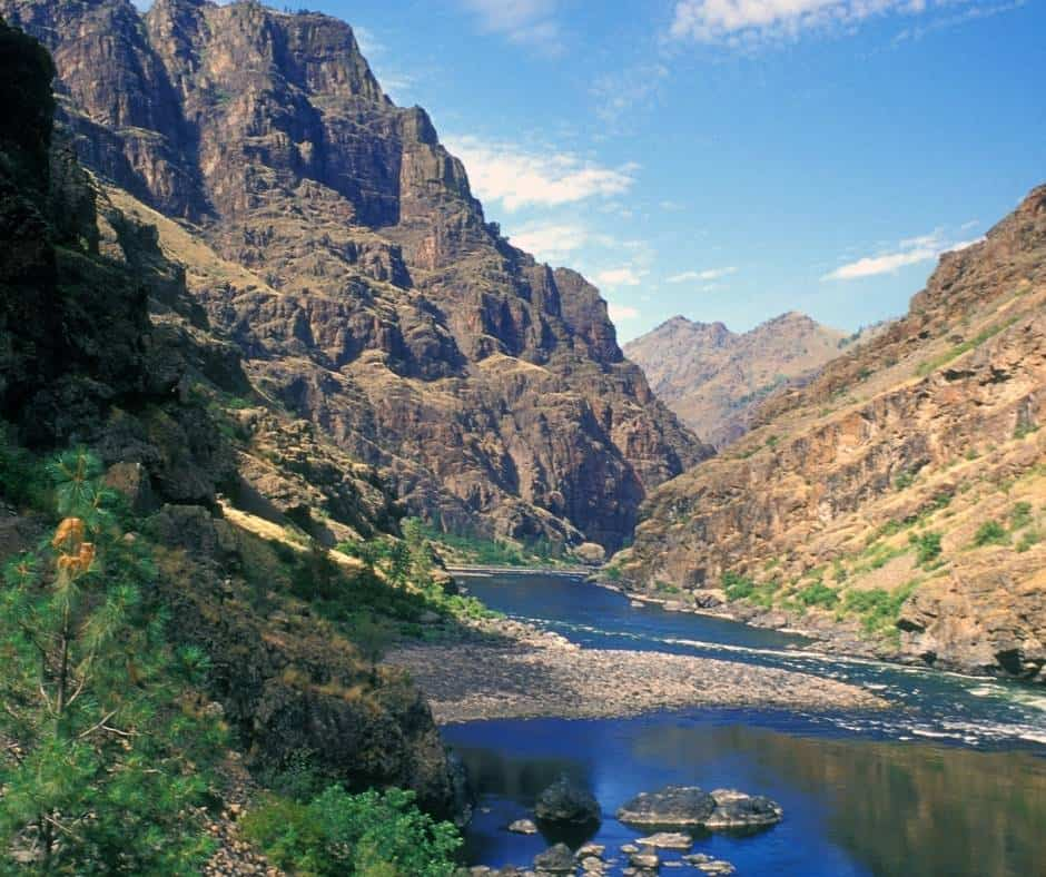 Hells Canyon is a great spot for Idaho family vacations