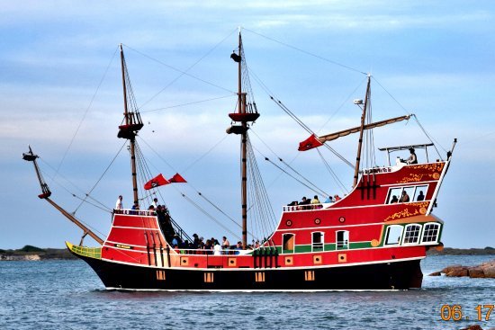 Red Dragon Pirate Ship Port Aransas