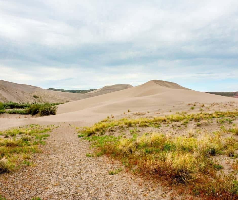 Bruneau Dunes in Idaho