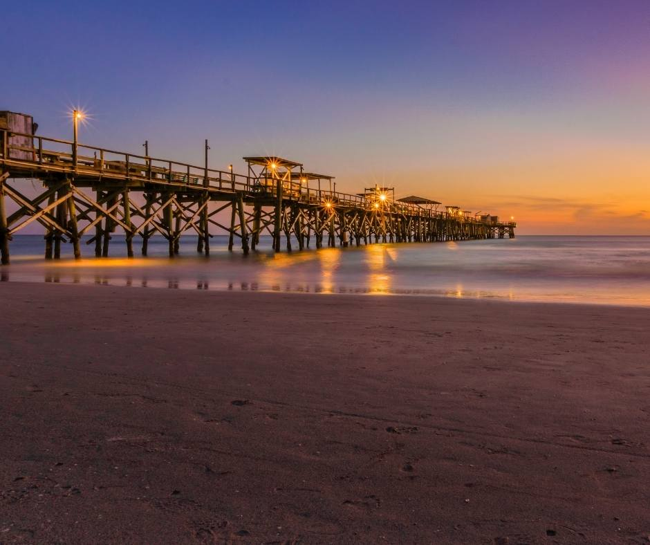 Things to do in St Pete Beach include a visit to the pier