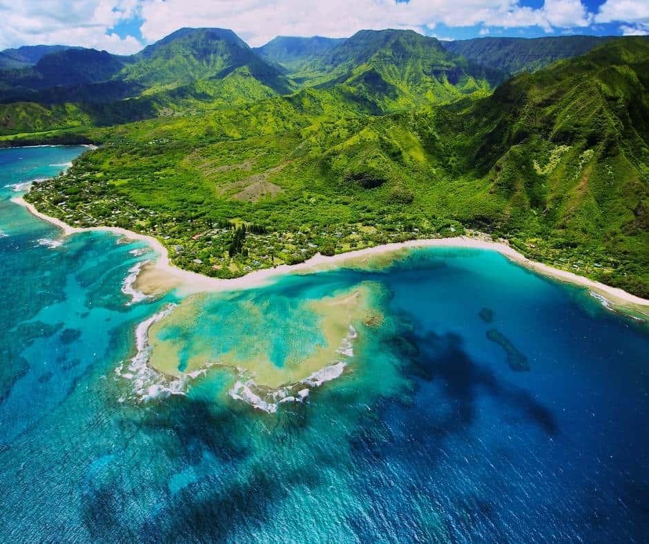 Tunnels Beach in Kauai has great snorkeling