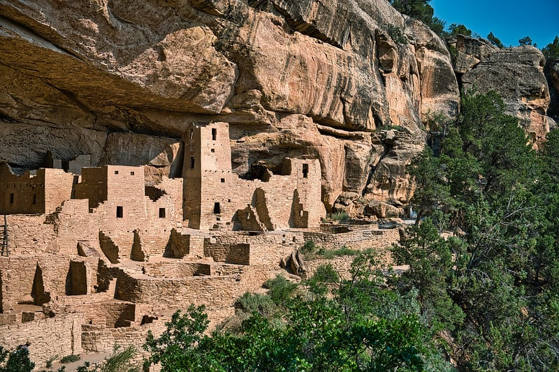 Mesa Verde National Park is a great stop on A Texas to Colorado Road Trip
