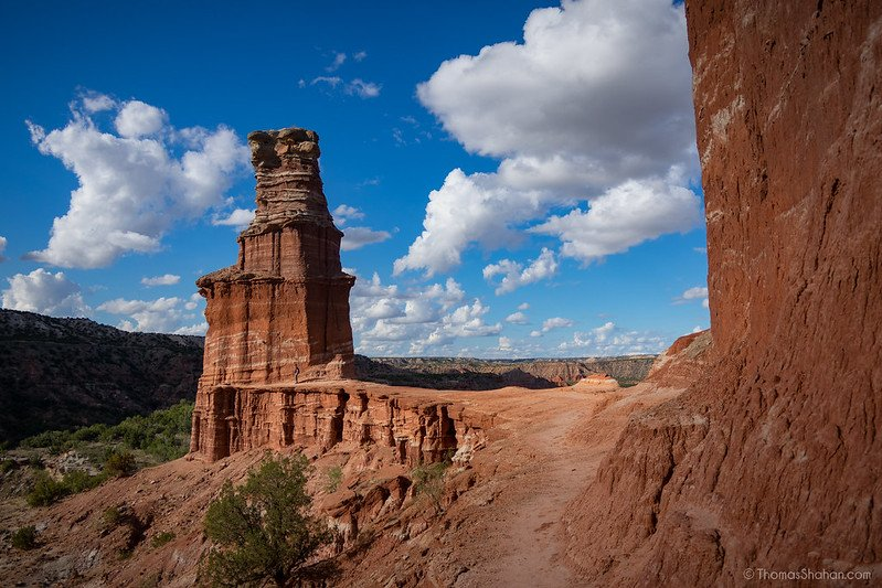 a road trip from Texas to Colorado should include a stop at Palo Duro Canyon State Park