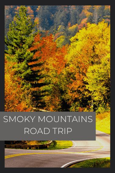 smoky mountains road trip