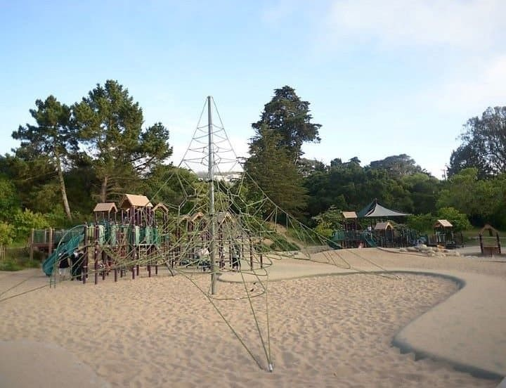 There are great playgrounds in Golden Gate Park San Francisco
