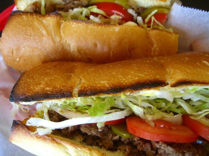Yellow Submarine sandwich