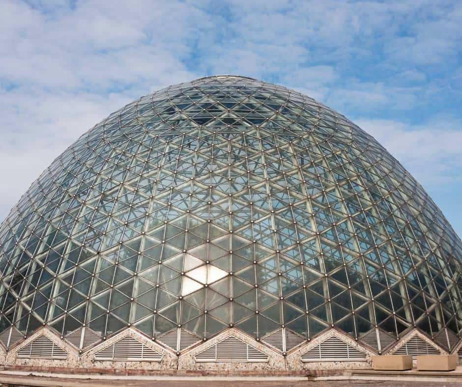 Visiting the domes are one of the most popular things to do in Milwaukee with kids