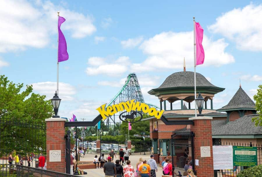 Kennywood is a one of the fun things to do in PIttsburgh with kids