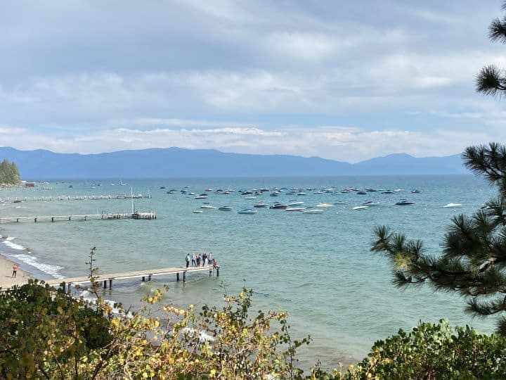 Lake Tahoe is a great day trip from Reno with kids