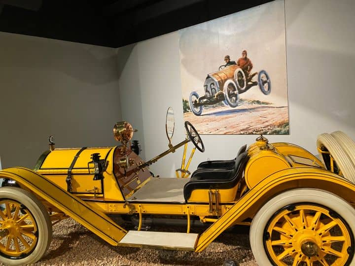 Things to do in Reno with kids include visiting the National Automobile Museum