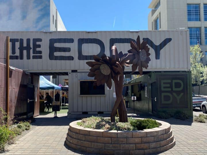 The Eddy Downtown Reno with kids