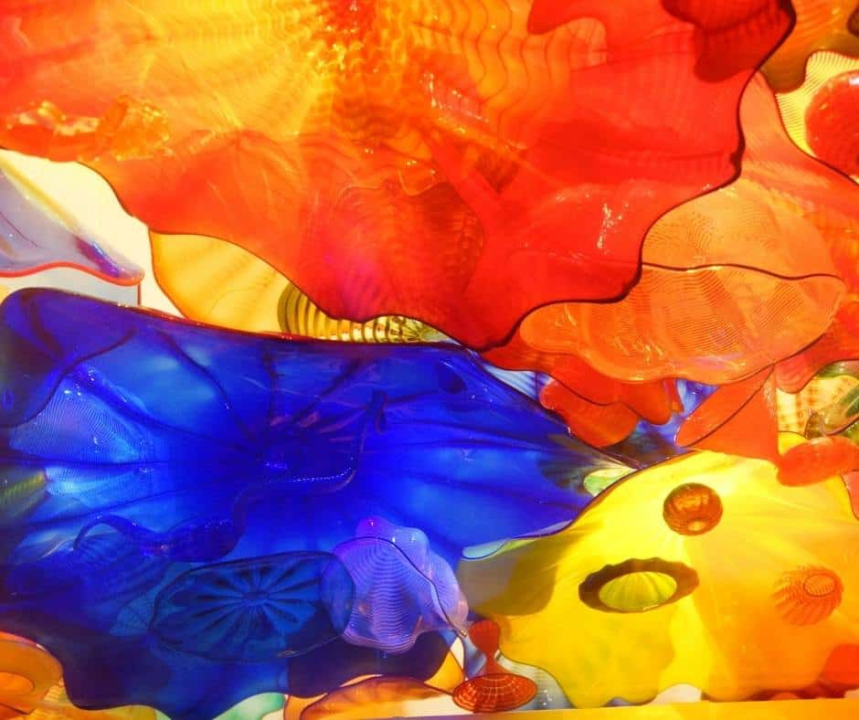 Chihuly Gardens and Glass Exhibition in Seattle