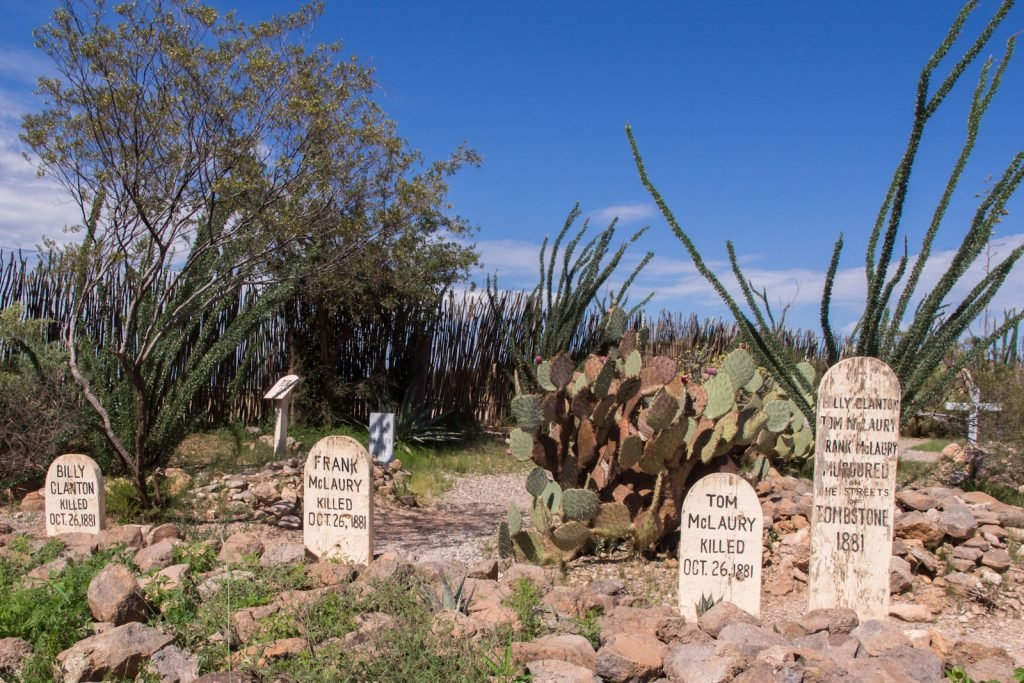 graveyard at Tombstone, Arizona