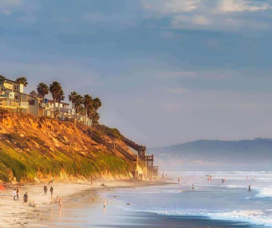 The best beaches in Carlsbad include South Carlsbad State Beach