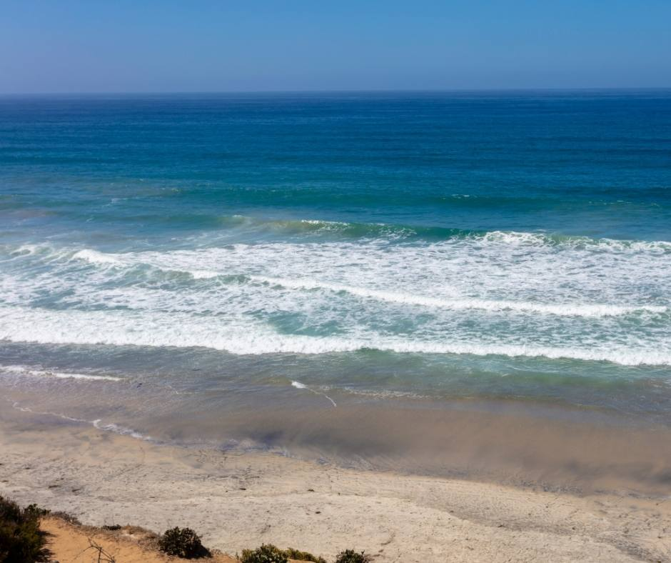 best beaches in Carlsbad include South Ponto Beach