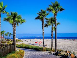 best beaches near San Diego