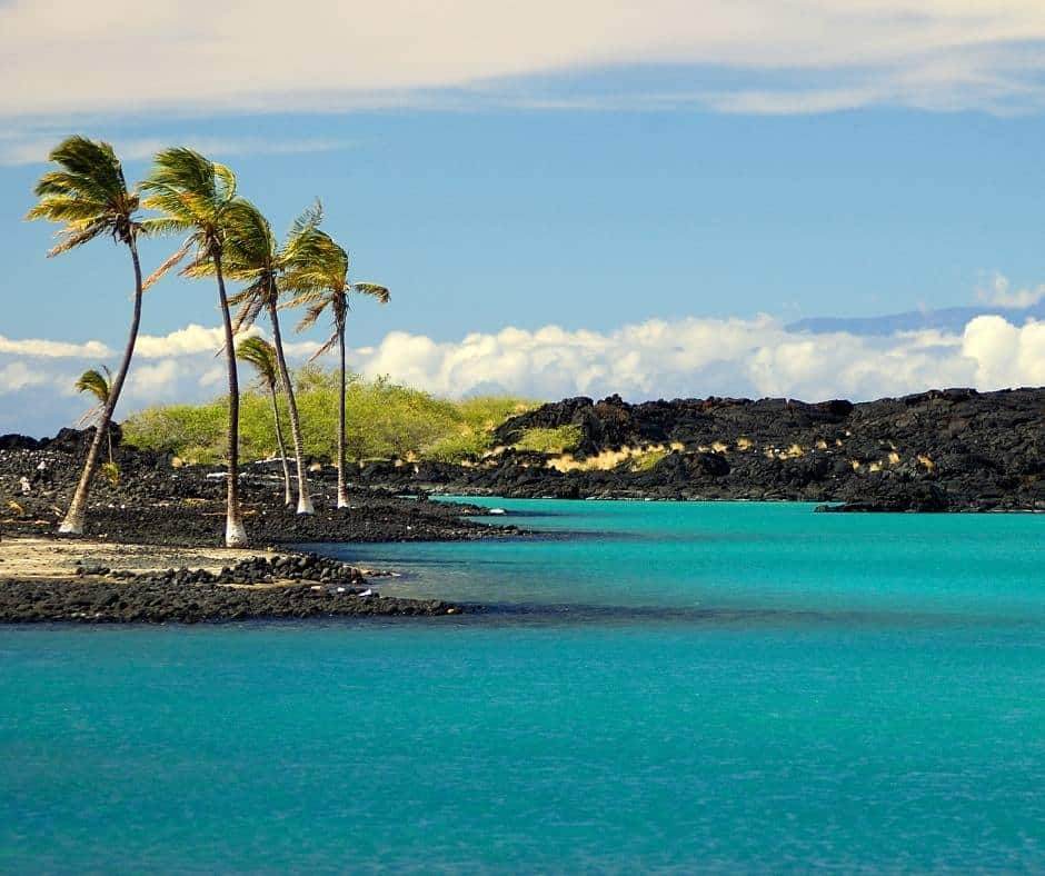 Kiholo Bay Big Island