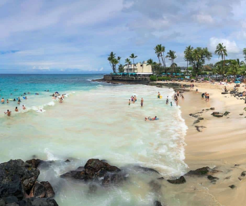 Macgic Sands is one of the best Big Island Beaches