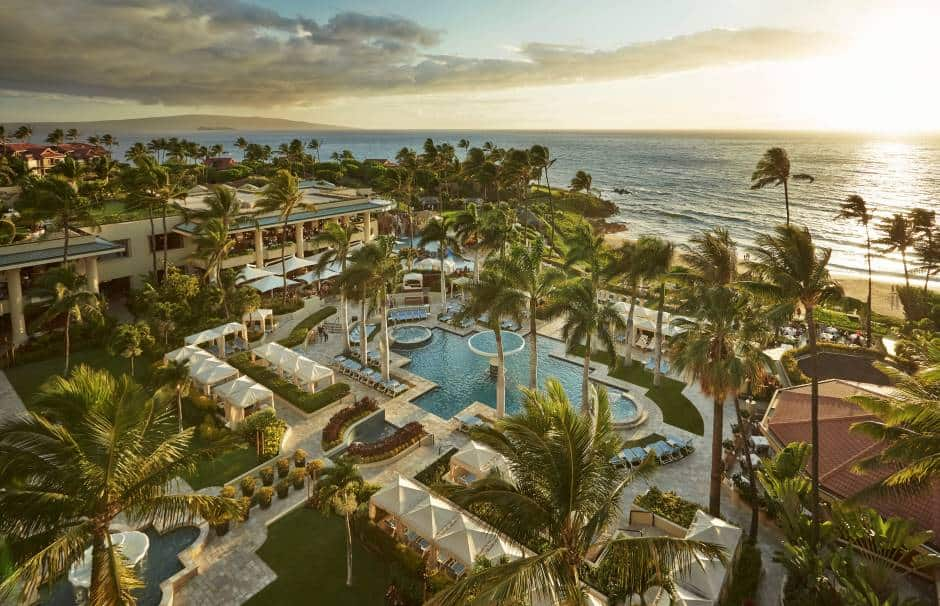 One of the best Maui Resorts for families is the Four Seasons Maui at Wailea