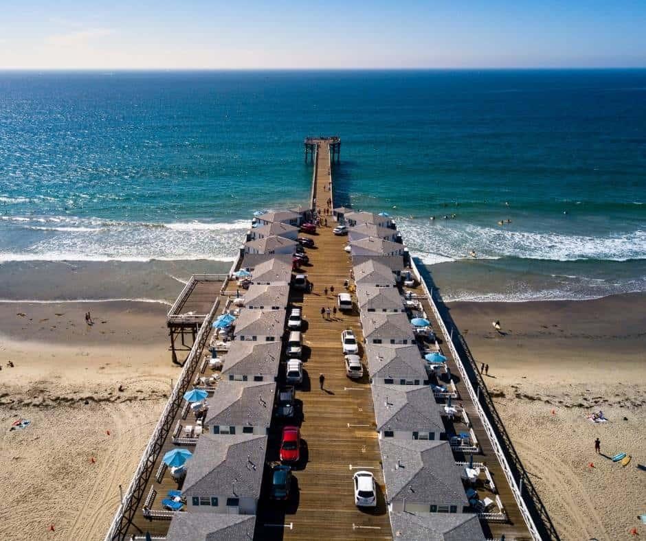 Pacific Beach near San Diego