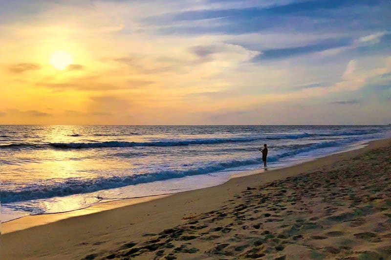 One of the best beaches in Carlsbad is Carlsbad State Beach