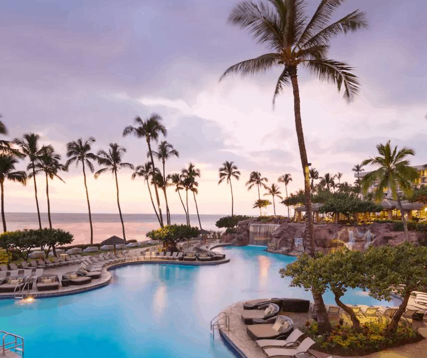 Hyatt Regency Maui Main Pool
