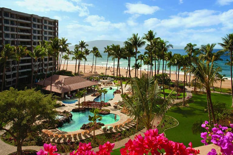 Kaanapali Beach Resort is one of the best Maui Resorts for families