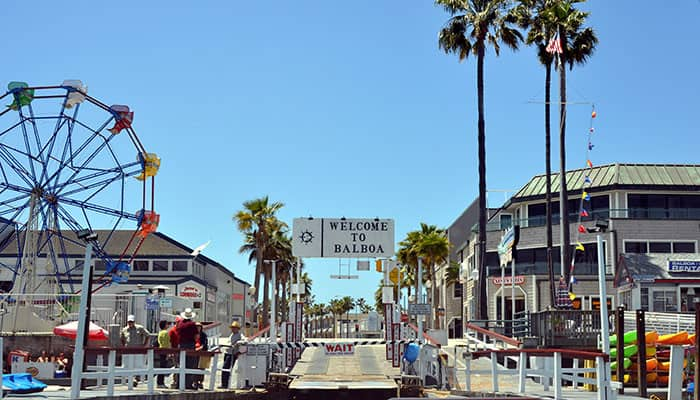 Balboa Peninsula is one of the fun things to do in Orange County with kids