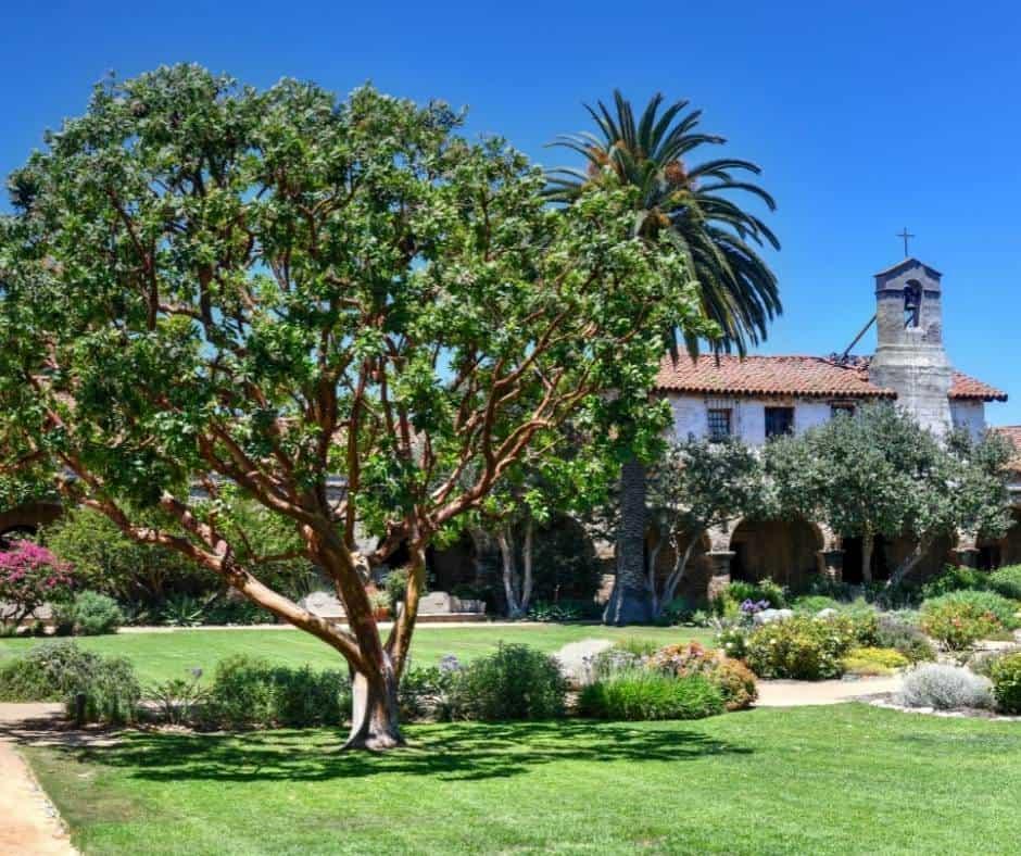 Mission San Juan Capistrano in Orange County