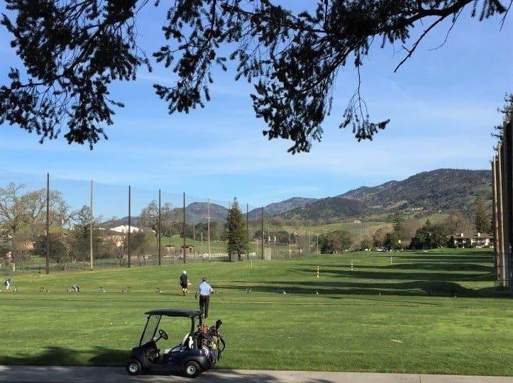 Driving Range at Silverado Resort and Spa