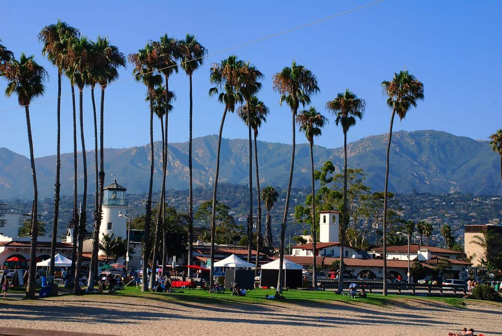 West Beach is one of the best beaches in Santa Barbara