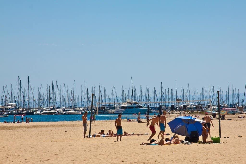 Leadbetter Beach in Santa Barbara