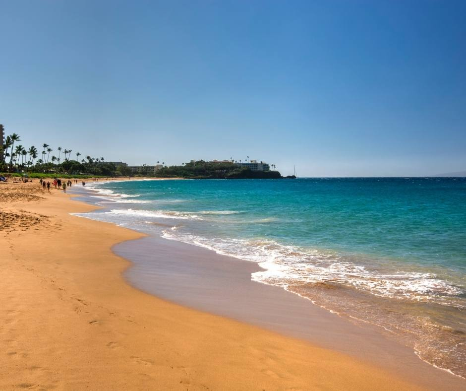 Kahekili Becah is one of the best beaches in Maui