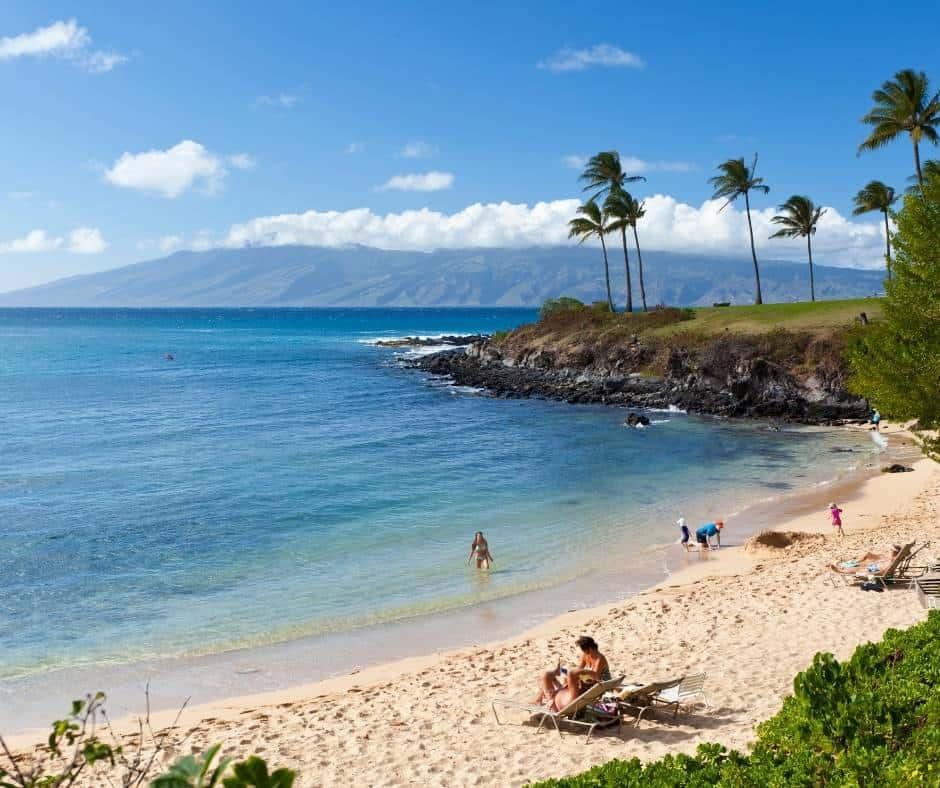Kapulua Bay in Maui