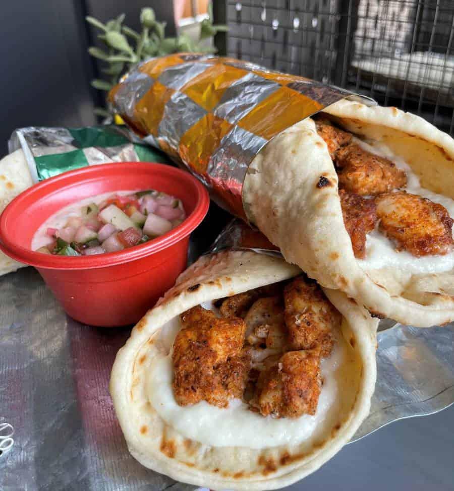 New Yorks's Tastiest Chicken Shawarma at Shawarma Palace at the Avengers Campus Disneyland Resort