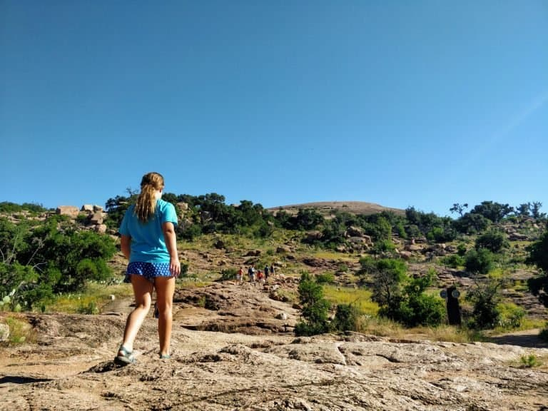 Enchanted Rock is a good place to visit on a Texas Hill Country Road Trip