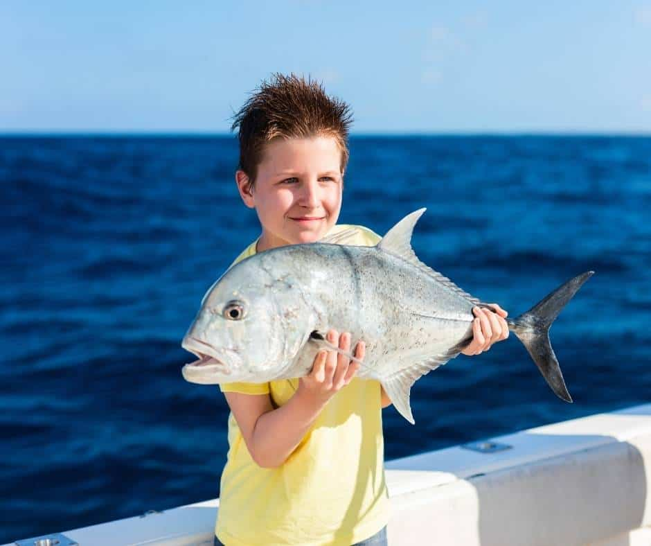 Ocean fishing is popular in Orange County