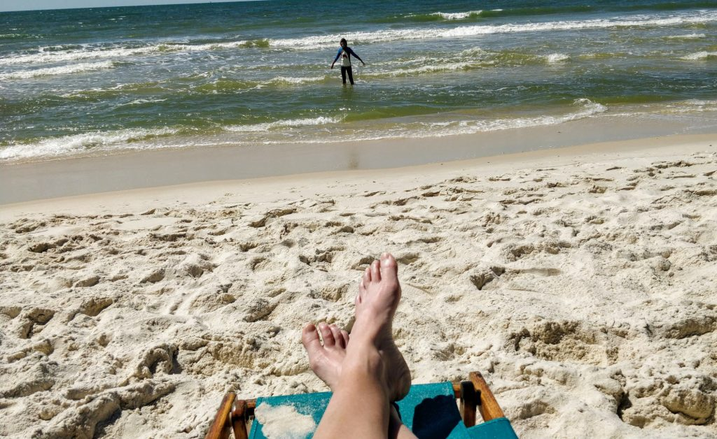 Things to do in Orange Beach with kids include hanging out at the beach