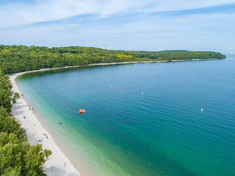 Visiting Washington Island is one of the best things to do in Door County with kids