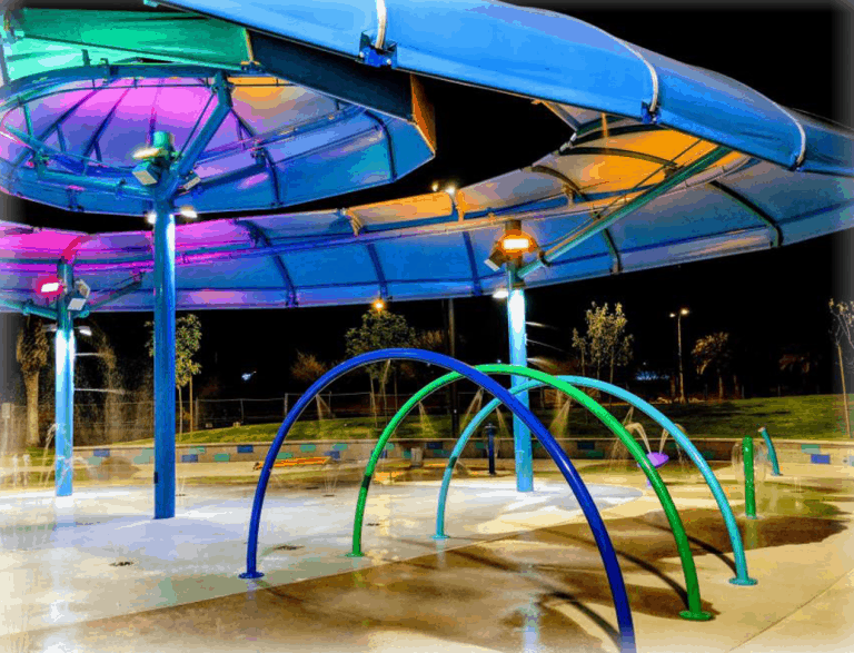 Kiwanis park is one of the great things to do in Tempe with kids
