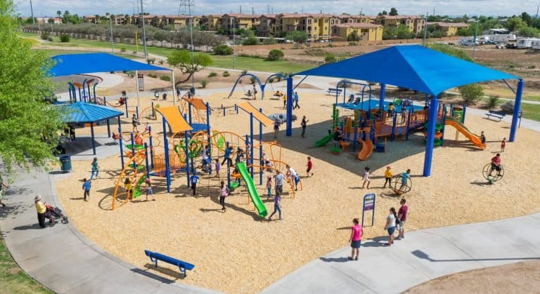 Friendship park in Avondale is one of the best parks in Phoenix metro.