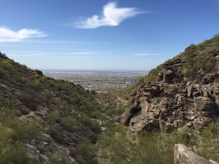 South Mountain Park in Phoenix is one of the best parks in Arizona