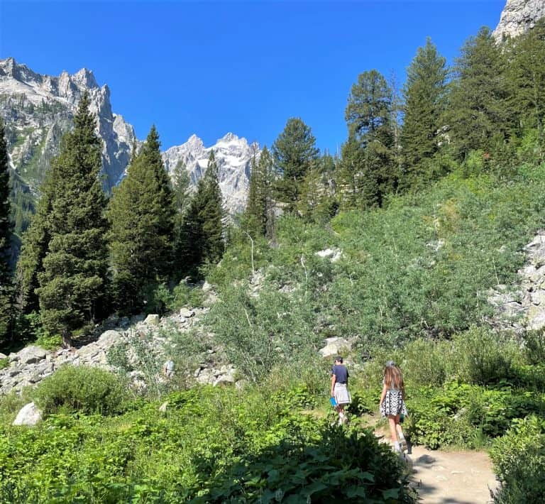 One of the best things to do in Grand Teton National Park is hike