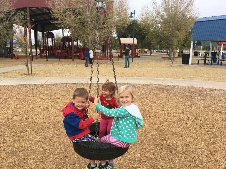 Tumbleweed Park in Phoenix