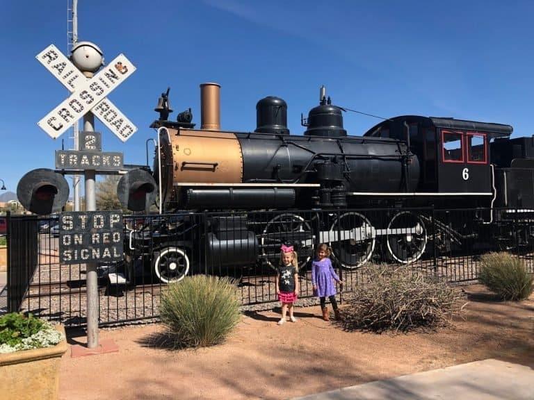 McCormick Stillman Railorad Park in Scottsdale is one of the best parks in Phoenix
