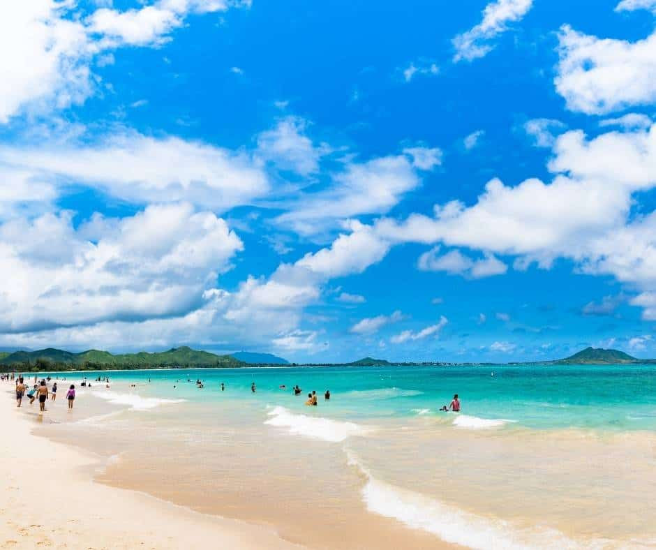 Kailua Beach in Oahu