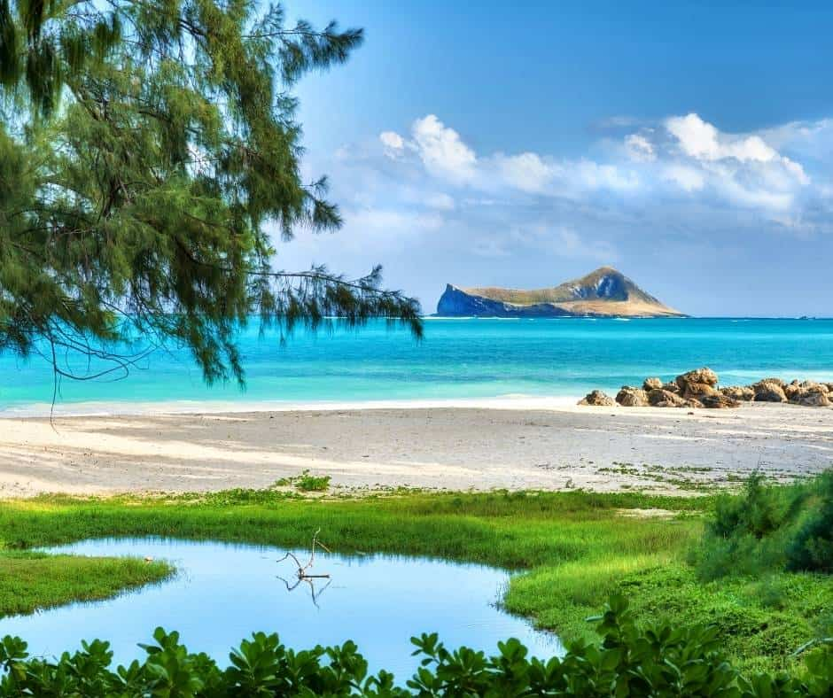 Bellows Field is one of the best beaches in Oahu