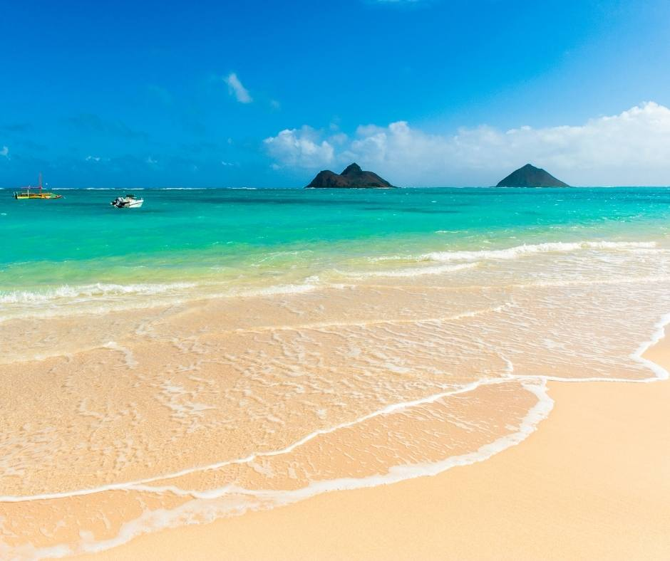 Lanikai is one of the best beaches in Oahu
