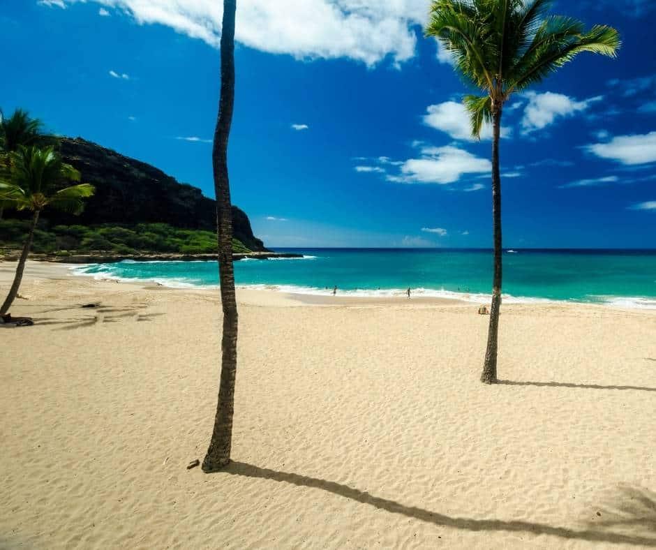 Makaha Beach Reserve in Oahu